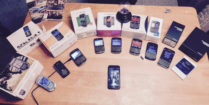 My BlackBerry Collection