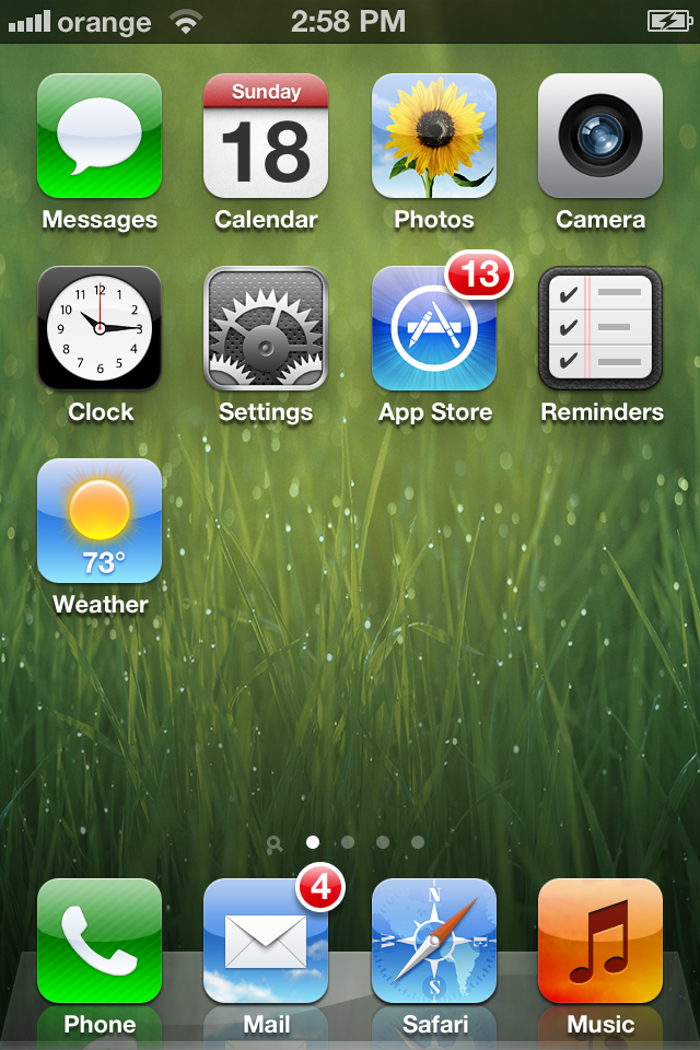 iOS 5 Screenshot