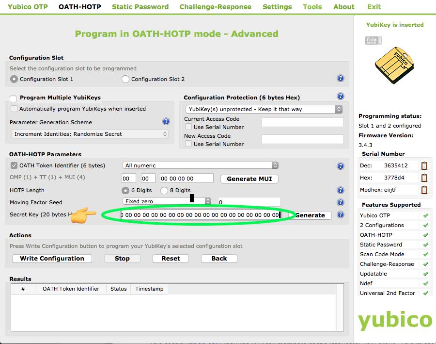 Yubico Personalization Tool