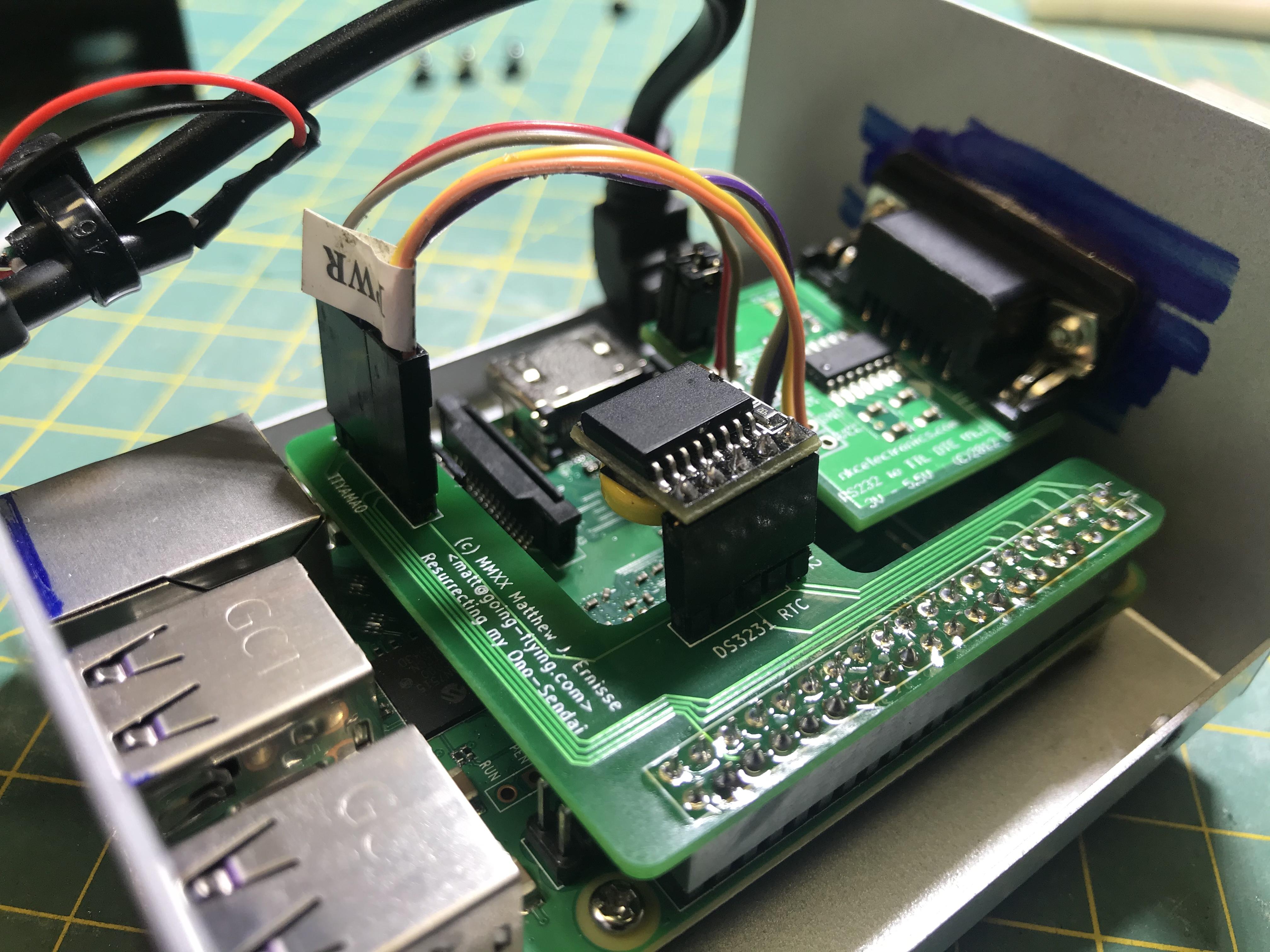 Assembled Raspberry Pi