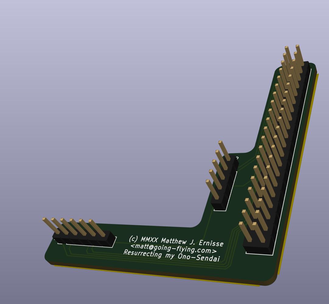 Raspberry Pi serial port, RTC and temperature sensor marshaling board