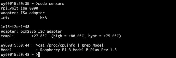 lm-sensors output