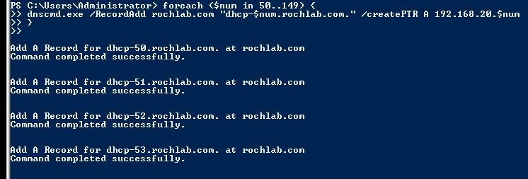 Powershell for DNS