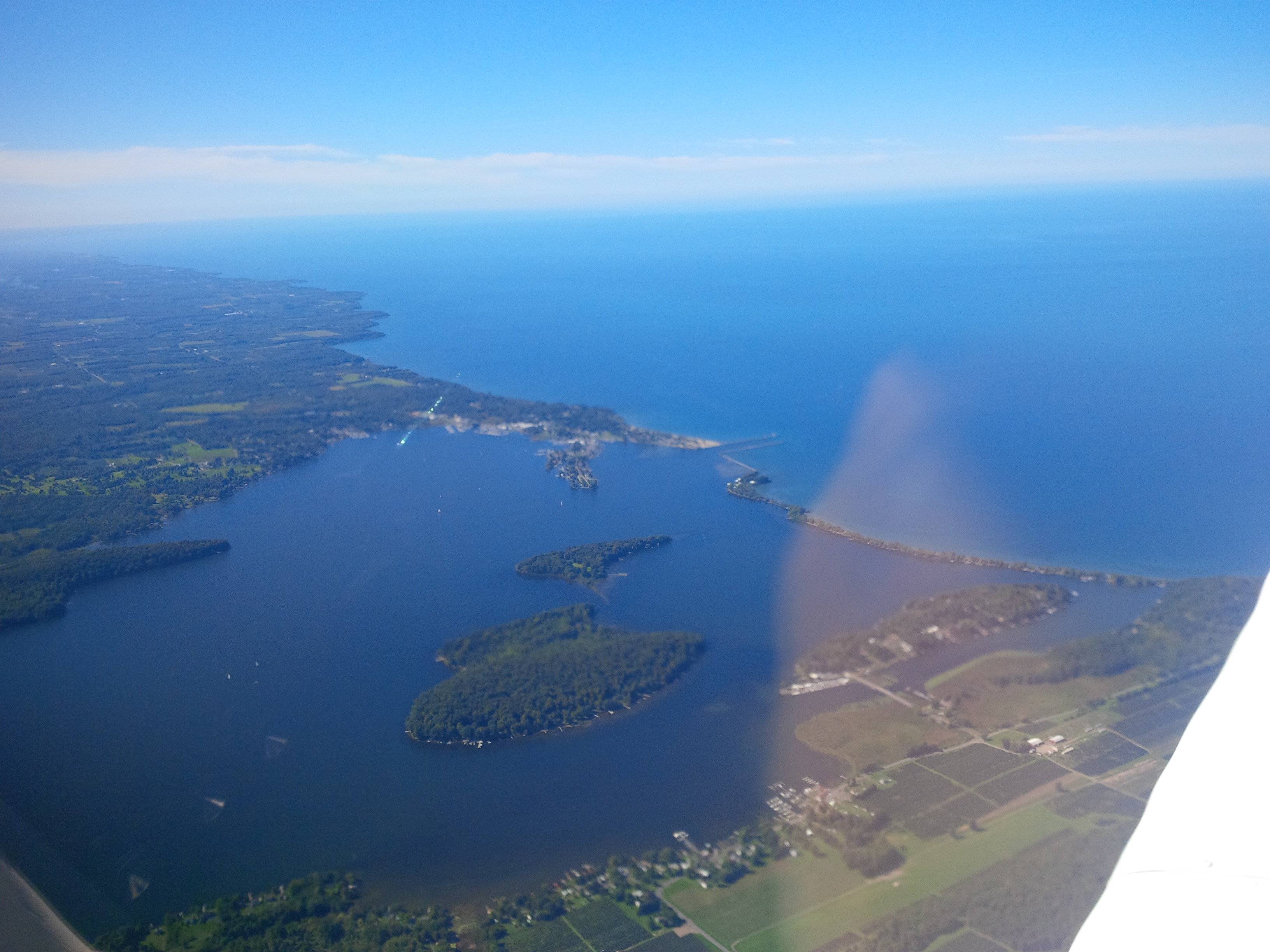Lake Ontario and Sodus Bay